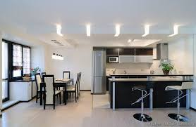 kitchen idea of the day love the soffit lighting in this modern