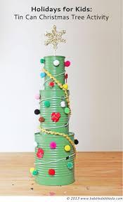 tin can christmas tree activity christmas tree activities and