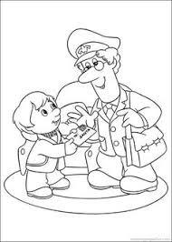 mailman hat coloring page postman pat coloring pages digi kuvat 2 pinterest postman pat