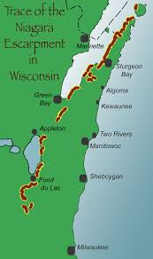 Sheboygan Wisconsin Map by The Story In The Rocks Door County Pulse
