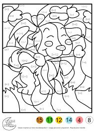 coloriage magique ce1 à colorier dessin à imprimer idées pour