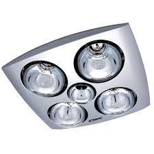 Bathroom Heat Lights Martec Contour 4 Bathroom Exhaust Heat Light Universal