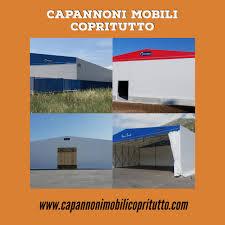 capannoni mobili capannoni mobili in telo pvc e coperture mobili