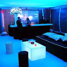 blacklight bedroom a tented after party area was lit with black light by stortz