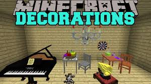 Mod Home Decor by Minecraft Decorations Toys Furniture Musical Instruments