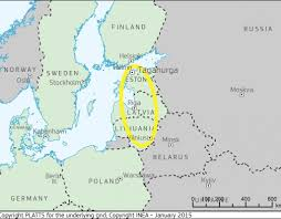 Baltic States Map Identification Of Technical Requirements And Costs For Integration