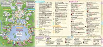 Disney Epcot Map File Epcotguidemap2016 Jpg The Mickey Wiki Your Walt Disney