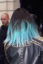 long bob with dipped ends hair 127 best dip dye images on pinterest colourful hair coloured