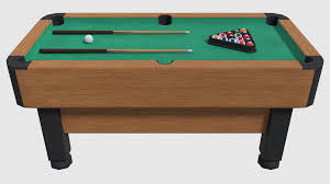 Pool Tables Games Pool Table Game Ready By Xepphirestudios 3docean