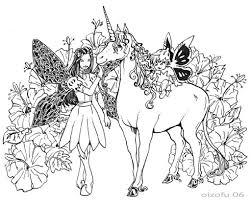 Coloriages à imprimer  Licorne numéro  3974