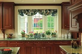window treatment ideas for kitchen furniture graceful application of kitchen bay window ideas