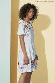 buy french connection white alice drape dress from the next uk