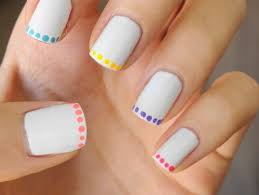 20 beautiful u0026 easy nail art ideas to do at home