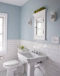 Chair Rail Ideas For Bathroom - subway tiles w chair rail top bathrooms pinterest subway