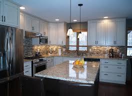 Modern Luxury Kitchen With Granite Countertop Charming White Granite Countertops For Elegant Kitchen Traba Homes