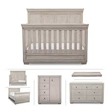 Simmons Convertible Crib Simmons Ravello 6 Nursery Furniture Set
