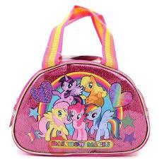 my pony purse my pony rainbow magic kids bag purse satin satchel