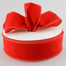 wired ribbon 2 5 velvet wired ribbon 50 yards rl544724 craftoutlet