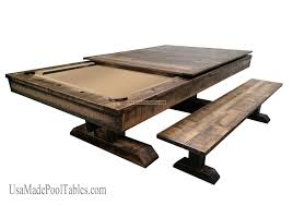RUSTIC POOL TABLE Future Pinterest Pool Table Game Rooms - Pool tables used as dining room tables