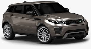 land rover white interior range rover evoque 3d model