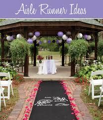 wedding aisle ideas wedding aisle runner ideas wedding aisle runners ceremony arch