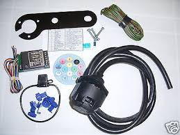 jaguar s type 13 pin european electric towbar wiring kit including