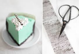 mint white chocolate mousse cake and a book trailer sprinkle bakes