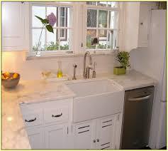 Black Apron Front Kitchen Sink by Apron Front Kitchen Sink Top Mount Farmhouse Kitchen Sink With
