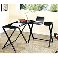 computer in glass desk articles with innovex computer desk black glass tag wonderful