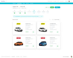 peugeot rent a car dribbble show and tell for designers