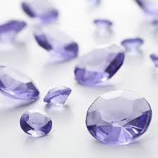 gems for table decorations lilac diamante table gems 100g mixed size value pack alexandrite