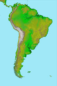 World Map Of South America by File Topographic Map Of South America Jpg Wikimedia Commons