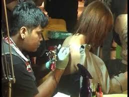 tato keren wanita indonesia suban tattoo indonesia tattoo youtube