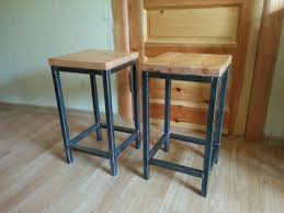 Kitchen Stools kitchen stools from welded square tubing and pine wood u2013 web tools