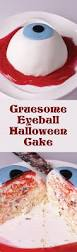 gruesome eyeball halloween cake nutri recipes