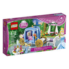 amazon com lego disney princess 41053 cinderella u0027s dream carriage