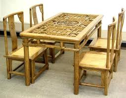 Bamboo Dining Table Set Bamboo Dining Table And Chairs Buy Bamboo Dining Table And Chairs
