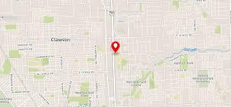 Detroit Zip Code Map Lexington Village Apartments Madison Heights Mi 48071