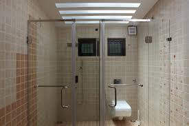 Bathroom Glass Shower Bathroom Glass Partition For Trivandrum Shower 3382 Modern Home