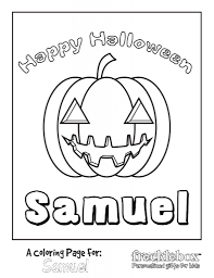 free personalized printable halloween coloring pages u2022 food