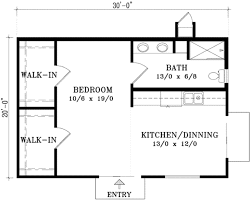 Cottage Style Floor Plans Cottage Style House Plan 1 Beds 00 Baths 400 Sqft 21 204 600 Sq Ft