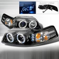 mustang projector headlights free shipping on junyan 99 04 mustang halo projector headlights