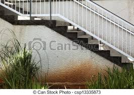 outdoor patio stairs side view of a flight of stairs picture