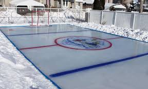 Backyard Rink Ideas Backyard Rink Liner Outdoor Goods