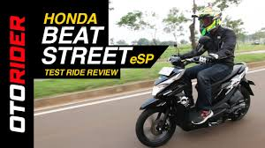 motor honda indonesia honda beat street esp 2017 test ride review indonesia otorider