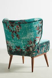 Turquoise Accent Chair Dhurrie Accent Chair Anthropologie