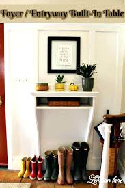 Small Entry Table Entry Way Table Diy Wooden Console Entryway Table Diy Wooden