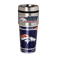 Travel Mug Denver Broncos Hi Def Stainless Steel Travel Mug Tumbler Great