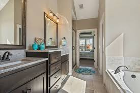 master bathroom in the turnberry floor plan from kansas city new
