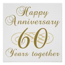 60th wedding anniversary wishes happy 60th wedding anniversary gifts on zazzle